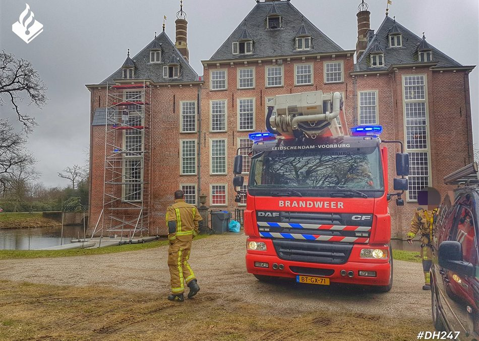 Les uit brand Kasteel Duivenvoorde